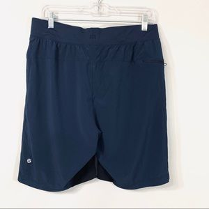 Lululemon Navy Blue T.H.E. Short Linerless Large